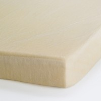 The Memory Foam Mattress Topper looks much like any other foam pad on first glance.  It is only when you give it a try that you can see the real difference.