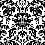 damask-bedding-pattern