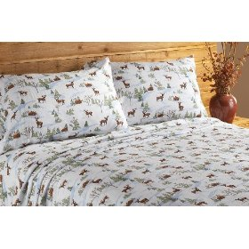 Print Flannel Sheets are Warm and Often a First Choice.  Print Flannel Sheets are Not Yarn Dyed.