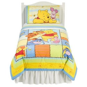 Winnie The Pooh Comforter Matches Twin Bed Sheets Click Pic For Details