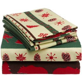 Flannel bedding for the winter holidays and beyond
