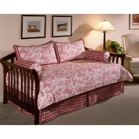 Pink Toile Daybed Bedding Set