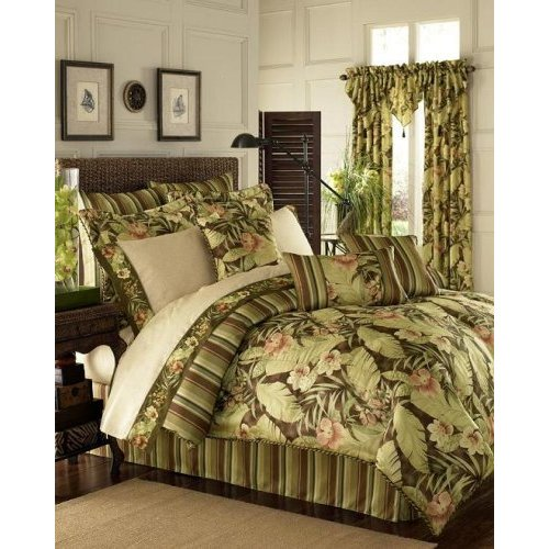 Tropical bedding from croscill brazil pattern