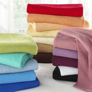 Post image for Cotton Blankets: 20 Colors, All Sizes