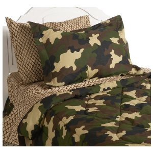 Post image for Army Camouflage Bedding – Twin Bed in a Bag