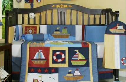 Nautical Baby Bedding