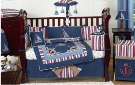 Nautical Nites Baby bedding