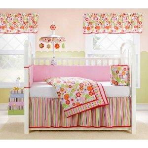 Tana Baby Crib Bedding Set By Bananafish In Mandarin