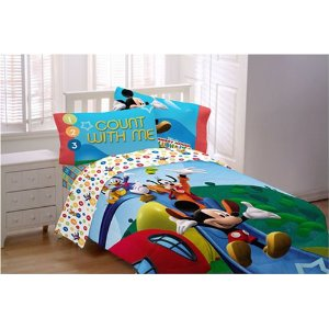 mickey mouse toddler sheet set - Mickey Mouse Bedding