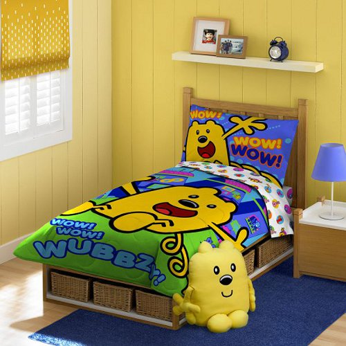 Wow Wow Wubbzy Toddler Bedding Set Bedding Selections