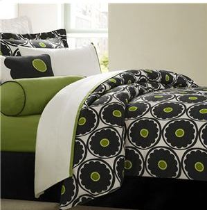 Kaos Couple White Zeus Black White Comforter Bedding Queen