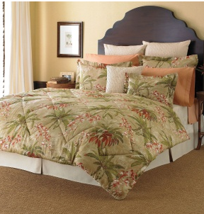 Post image for Tommy Bahama Viscaya Green Tropical Bedding Comforter Set