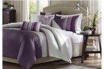 Madison Amherst Purple Bedding