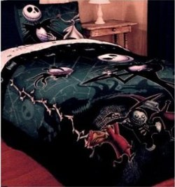 Nightmare Before Christmas Bedding