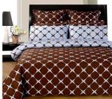 bedding_blue&brown_bloomingdale_chocolate&blue
