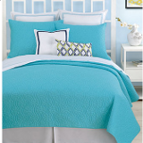 solid turquoise comforter