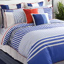 typical nautical bedding