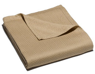 0-twist taupe cotton blkt