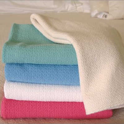 crepe weave summer cotton blankets