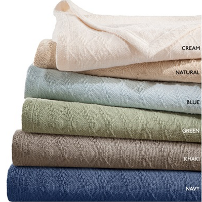 freshspun cotton blankets