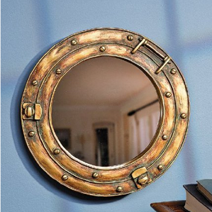 porthole nautical mirror