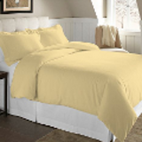 yellow flannel duvet cover