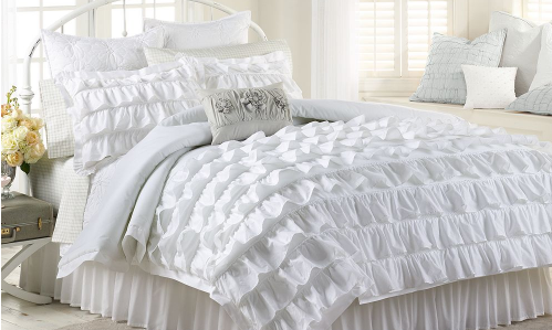 Lauren Conrad Ella White Bedding